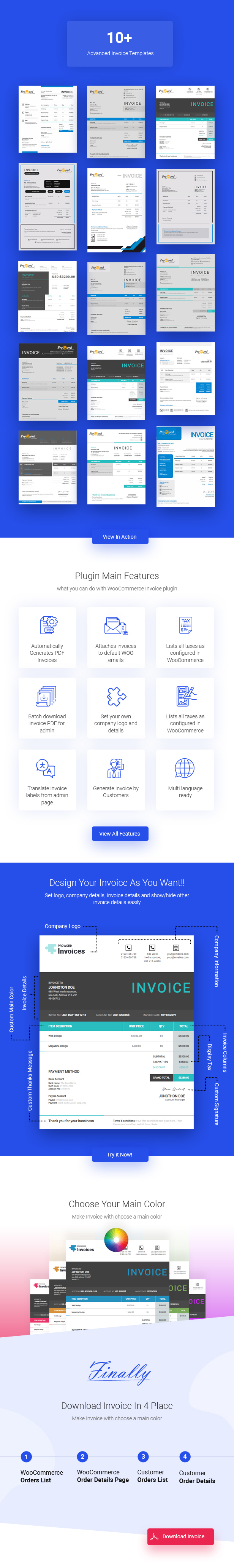 Advanced Woocommerce PDF Invoice - 4