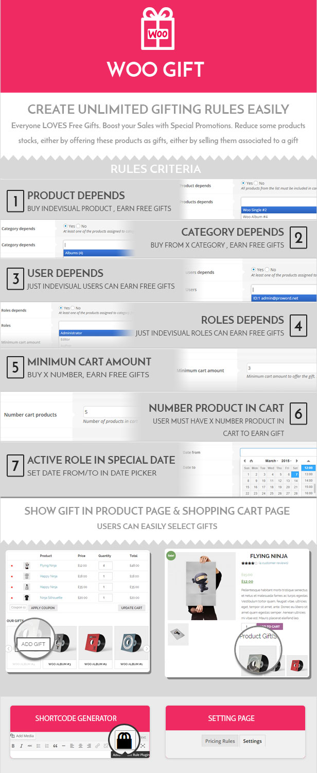 Woo Gift : Advanced Woocommerce Gift Plugin - 4