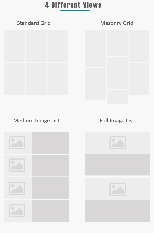 Advance Post Grid/List with custom filtering for Visual Composer - 4